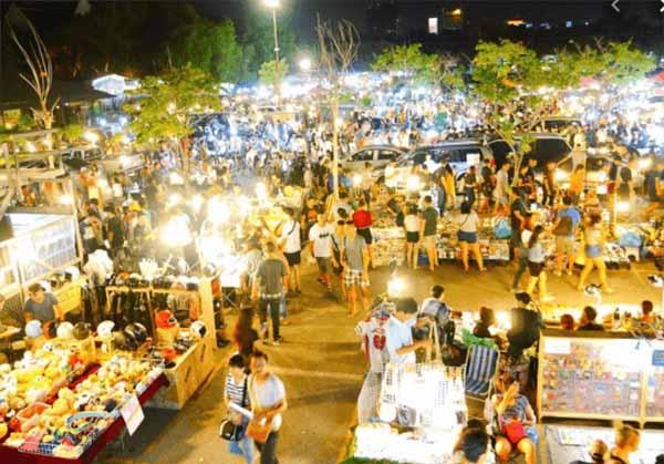 Khu Chợ về đêm